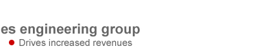sales engineering group drives increased revenues, supports higher margins and improves customer acquisition and retention